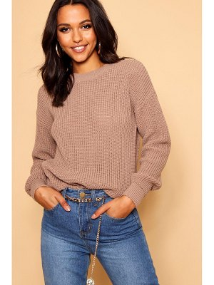 Boohoo Oversized Sweater