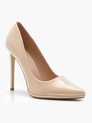 Boohoo Platform Pointed Court Shoes