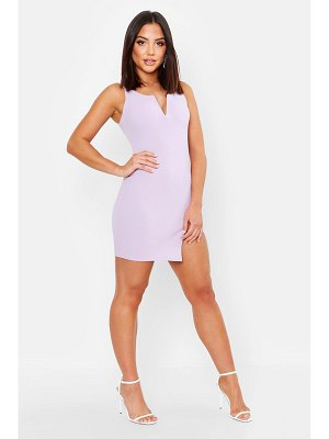 Boohoo Plunge Neck Bodycon Dress