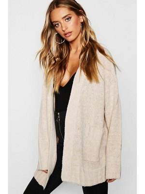 Boohoo Pocket Cardigan