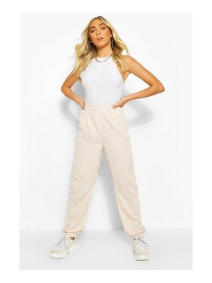 Boohoo Pocket Side Luxe Jogger