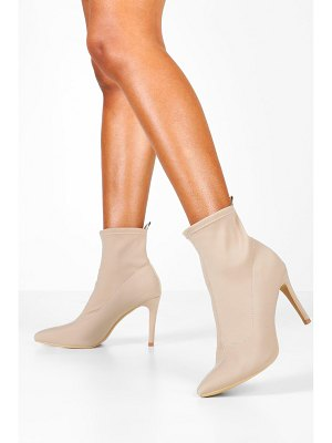 Boohoo Pointed Stiletto Sock Boots