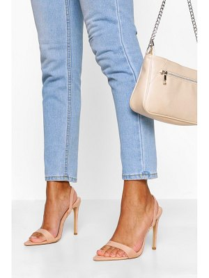 Boohoo Pointed Toe Slingback Two Parts