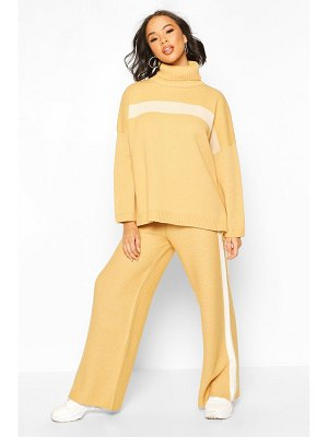Boohoo Premium Knitted Roll Neck Set