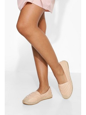 Boohoo Quilted Espadrille