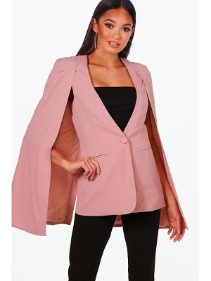 Boohoo Boutique Cape Blazer
