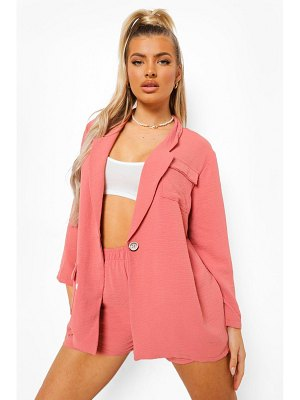 Boohoo Relaxed Fit Oversized Blazer