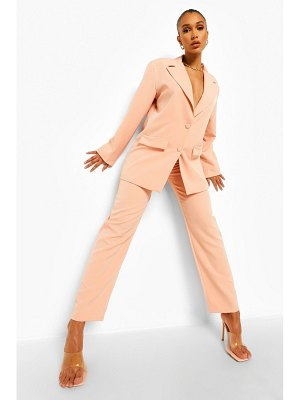 Boohoo Relaxed Fit Dress Pants