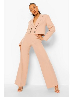 Boohoo Relaxed Fit Tailored Wide Leg Pants
