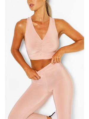 Boohoo Ruch Front Sports Set