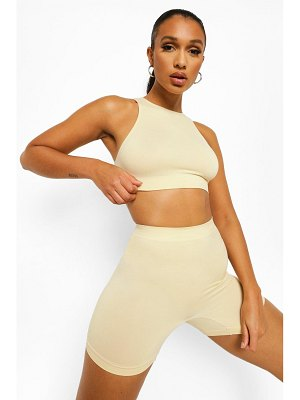 Boohoo Second Skin Brushed Control Short