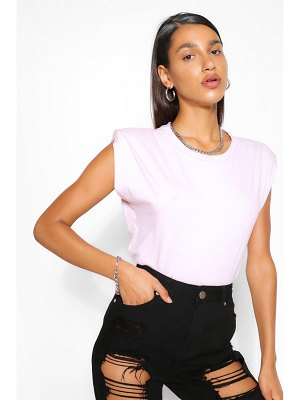 Boohoo Shoulder Pad T-Shirt