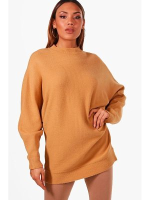 Boohoo Oversized Batwing Soft Knit Jumper