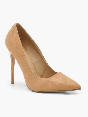 Boohoo Skin Tone Court Shoes