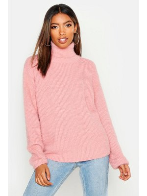 Boohoo Soft Knit Roll Neck sweater