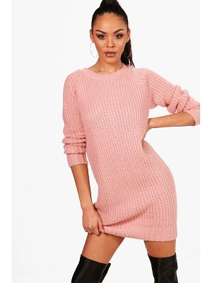 Boohoo Soft Knit Sweater Dress