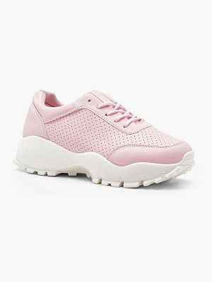 Boohoo Cleated Chunky Sole Trainers