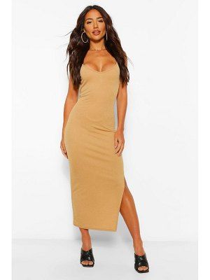Boohoo Strappy Bodycon Midaxi Dress