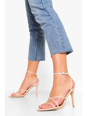 Boohoo Strappy Minimal Pointed Toe Sandal