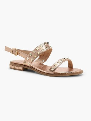 Boohoo Studded Two Part Sandals