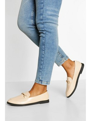 Boohoo T Bar Detail Loafers