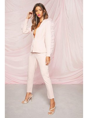 Boohoo Occasion Tailored Tapered Pants
