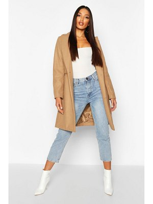 Boohoo Tailored Wool Look Coat