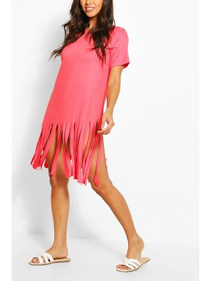 Boohoo Tassel Beach Dress