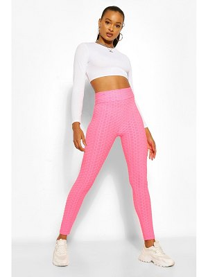 Boohoo Textured Fitted Legging