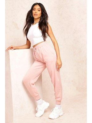 Boohoo The Slim Leg Loopback Joggers