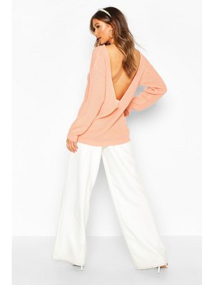 Boohoo V Back Oversized sweater