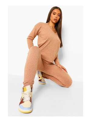 Boohoo V Neck Knitted Co-Ord