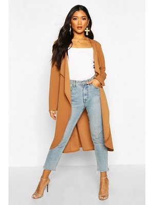 Boohoo Waterfall Duster Coat