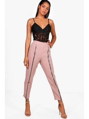 Boohoo Woven Zip Front Extreme Trouser
