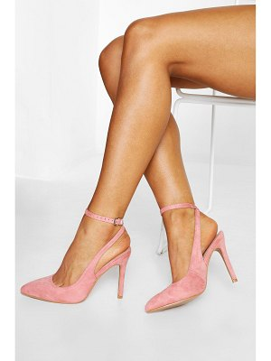 Boohoo Wrap Ankle Pointed Courts