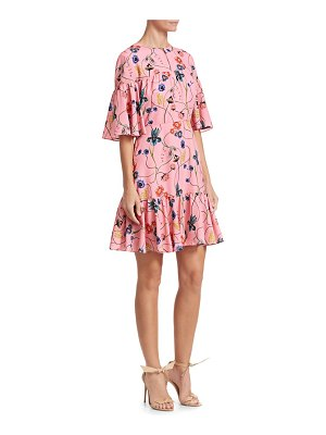 Borgo De Nor alba floral mini dress