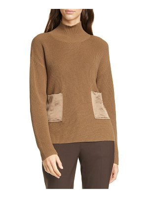 BOSS faonia cotton & cashmere sweater