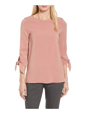 BOSS ivimea tie sleeve blouse