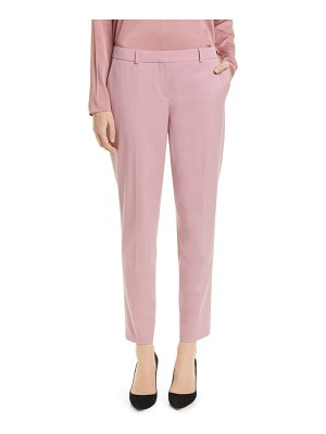 BOSS tiluna stretch wool ankle trousers