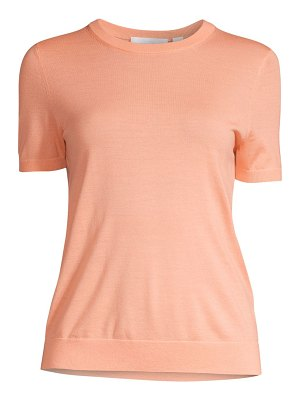BOSS falyssa virgin wool short-sleeve knit sweater