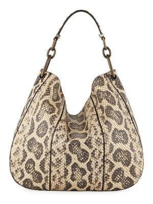 Bottega Veneta Anaconda Loop Medium Hobo Bag