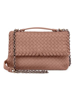 Bottega Veneta baby olimpia leather shoulder bag