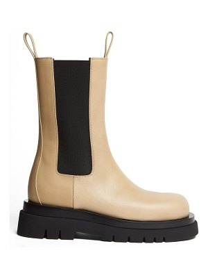Bottega Veneta the lug leather boots