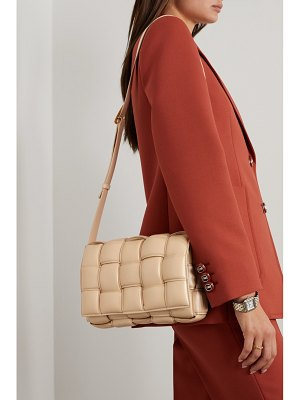 Bottega Veneta cassette padded intrecciato leather shoulder bag