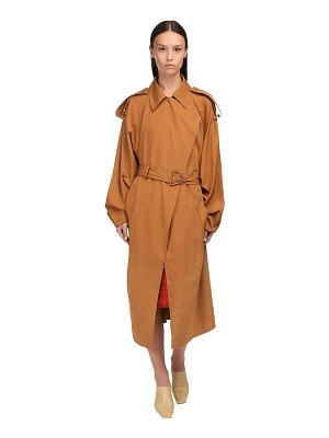 Bottega Veneta Compact cotton blend trench coat