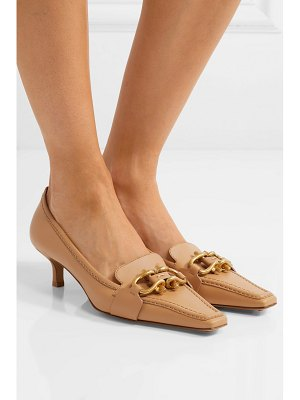Bottega Veneta embellished leather pumps