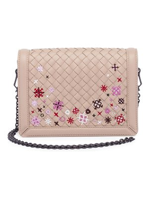 BOTTEGA VENETA Embroidered Crossbody Bag