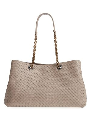 Bottega Veneta intrecciato east/west leather tote bag