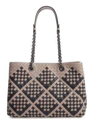Bottega Veneta intrecciato leather tote bag