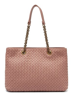 Bottega Veneta intrecciato medium leather tote